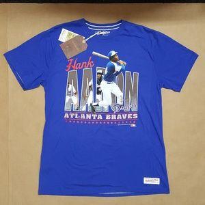 Mitchell & Ness Hank Aaron T-Shirt Men Size XXL